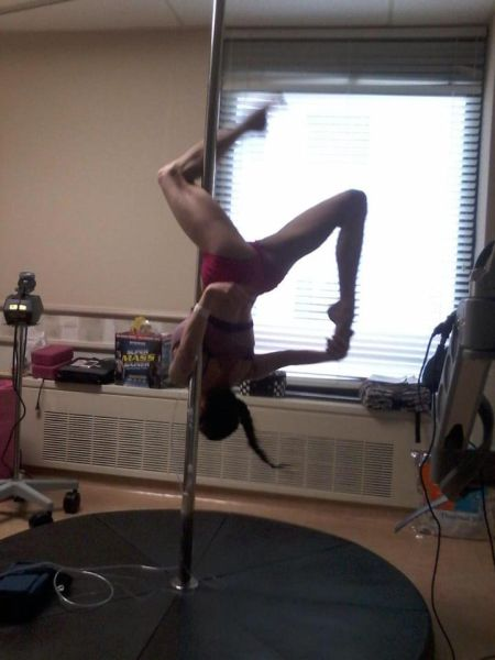 The Inspirational Pole Dancer Who Defies Her Disability