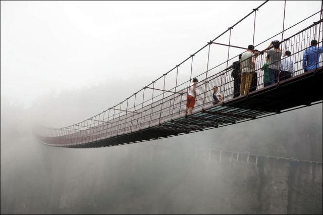 A Bridge Designed for Those with a Sense of Adventure