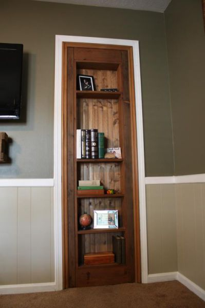 A DIY Secret Door That Is Quite a Nice Home Addition