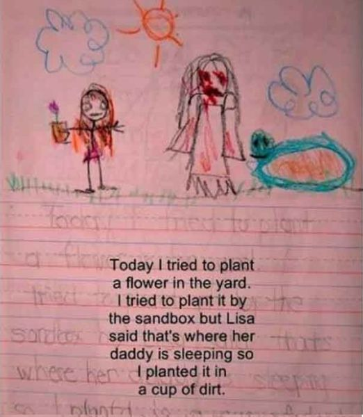 A Freaky Story That Was Really Written by Some Kid