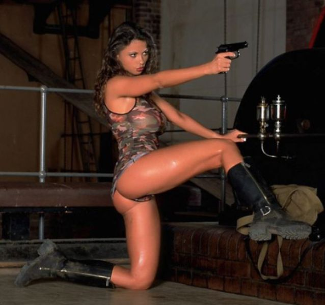 Beautiful, she asian chicks with guns 2008 calendars