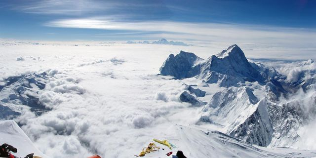 Spectacular Views from Some of the Highest Places on the Planet