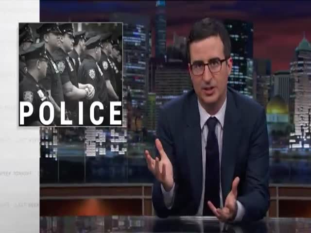 John Oliver's Take on Civil Asset Forfeiture