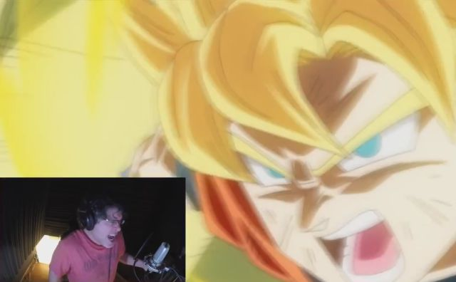Dragon Ball Voice Actors Really Get into Their Characters
