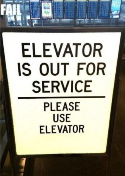 Nonsensical Signs That Are Just Confusing