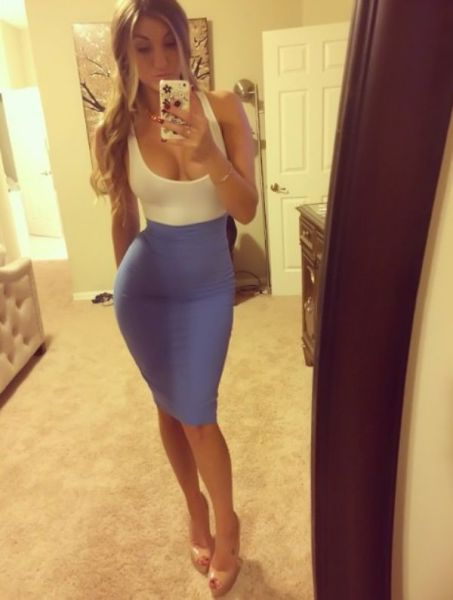 Skin-tight Dresses Are a Stunning Invention
