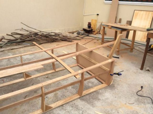 Parents Build Their Son A One-of-a-kind Boat Bed