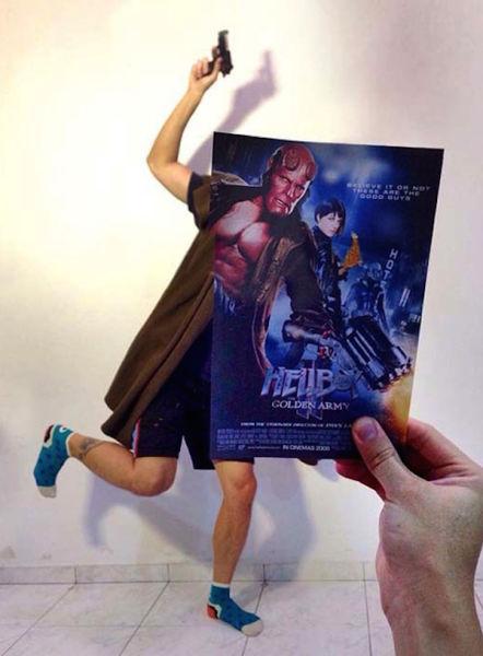 Movie Posters Inspire Creative Mashups