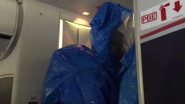 Why You Should Never Joke about Having Ebola on a Plane