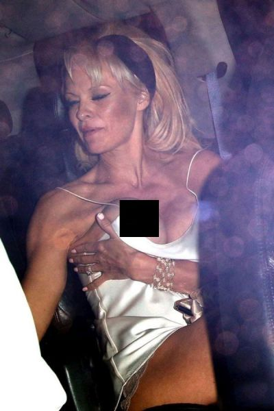 Pamela Anderson's Embarrassing Clothing Mishap