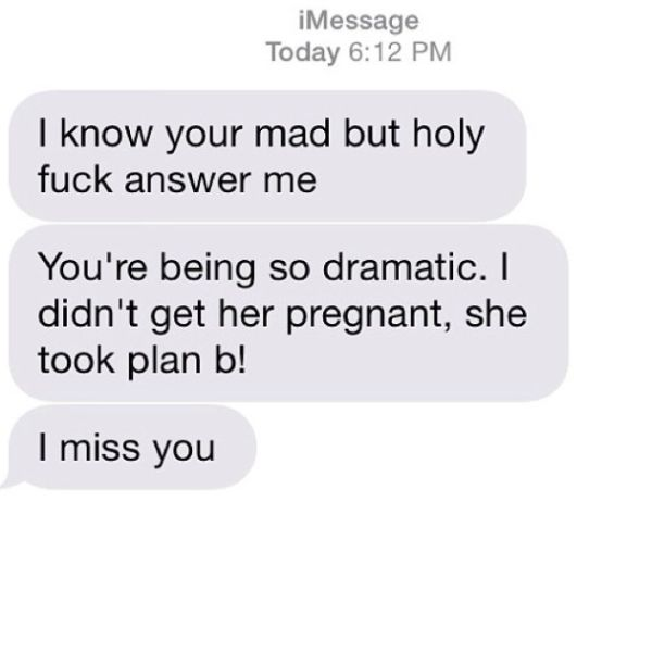 Texts from Exes That Are Just Sad and Funny