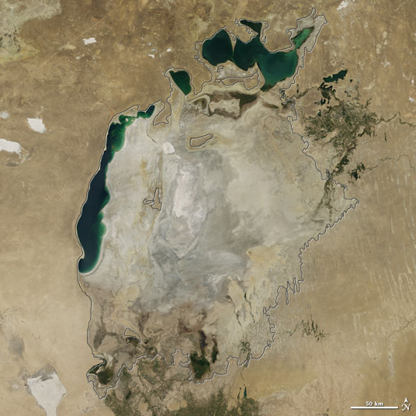 The Aral Sea Is Drying Up