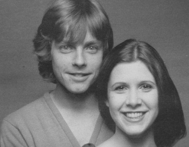 The Original Luke Skywalker and Princess Leia Meet Again