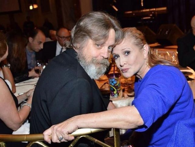 The Original Luke Skywalker and Princess Leia Meet Again