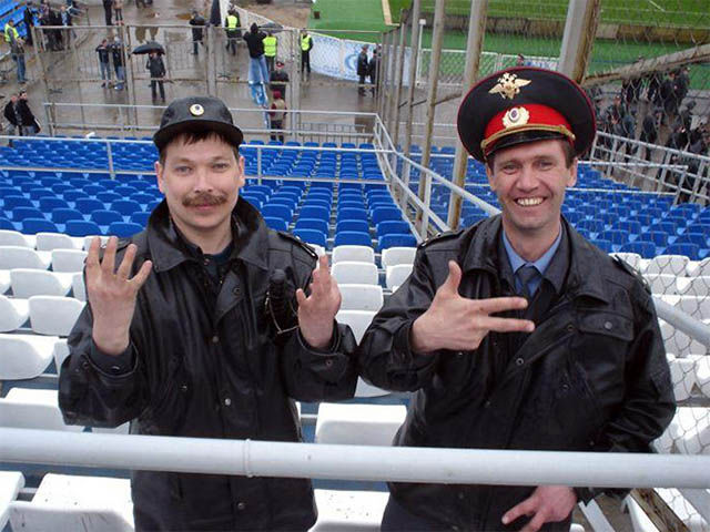 The Russian Police Force Are A Breed of Their Own