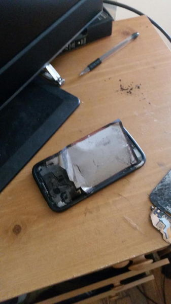 An Exploding Samsung Galaxy S4