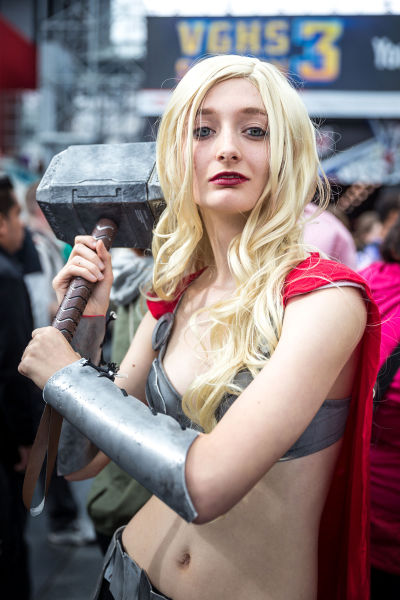 Outrageous and Awesome Costumes of the New York Comic Con