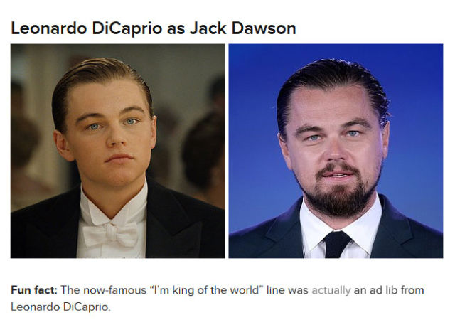 What the Cast of the Titanic Look Like Today