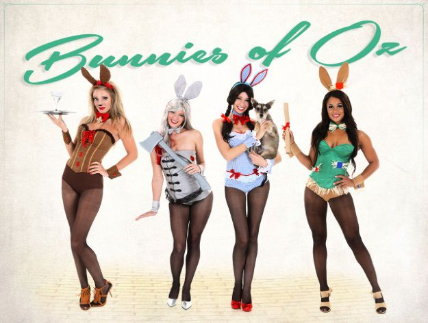Sexy Cospay Playboy Bunnies of Oz [Mashup]