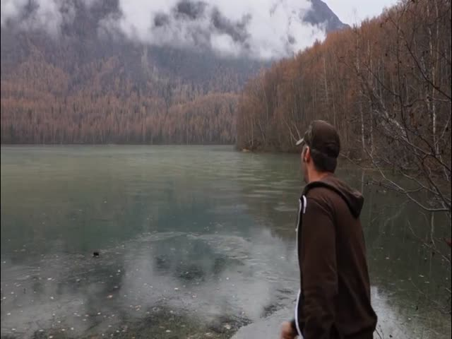 Skipping Rocks on a Frozen Lake Makes Cool Sounds