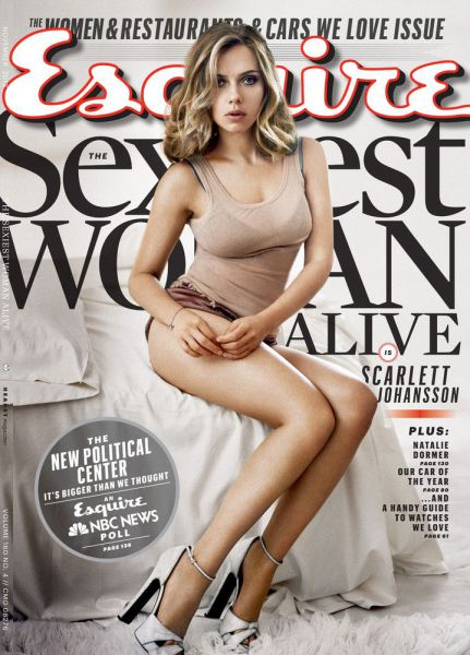 Esquire's List of the World's Sexiest Women 2004 to 2014