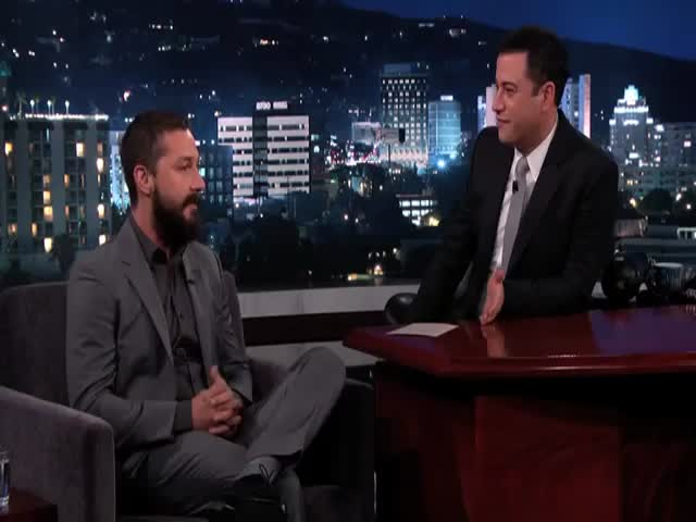 Shia LeBeouf Tells the Story of His Recent Broadway Show Arrest  (VIDEO)