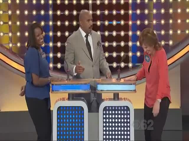 Woman Humiliates Husband on Family Feud