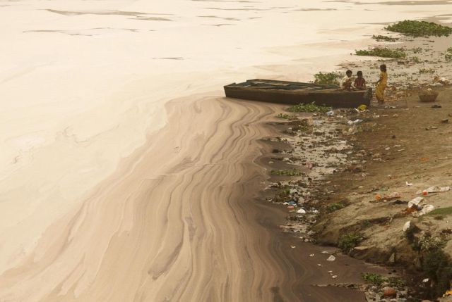 The Digusting Pollution in India's River
