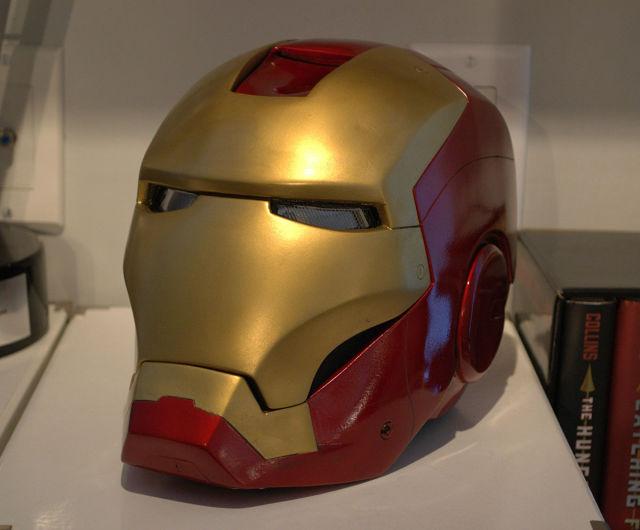 Как сделать шлем у железного человека