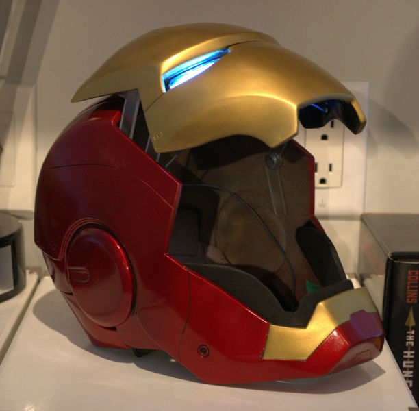 A Self Made Iron Man Helmet That You Can Actually Wear 30