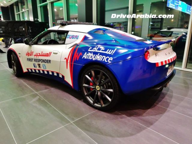 New Ambulances in Dubai are Some of the Top Luxury Cars