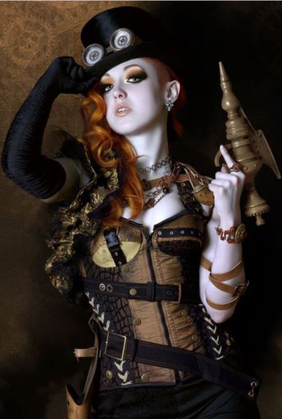 Steampunk Girls That Will Make You Love Cosplay
