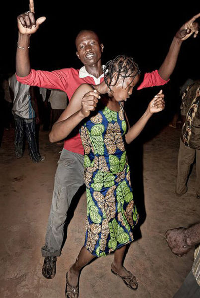 A Disco Party in the Middle of Africa