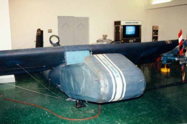 A Real WWII Inflatable Airplane