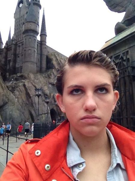 The Most Unhappy Disney World Visitor Ever