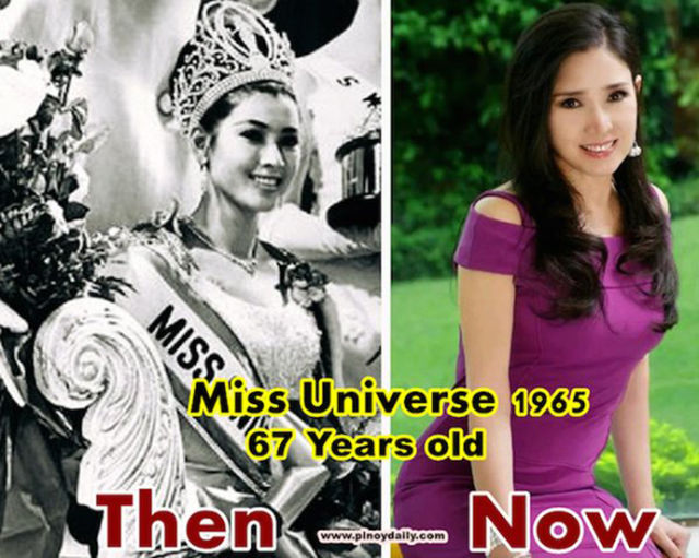 A Miss Universe Winner Who Has Literally Not Aged a Day in 50 Years