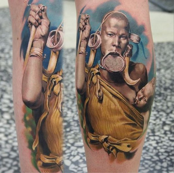 A Tattoo Artist Whose Work Comes to Life