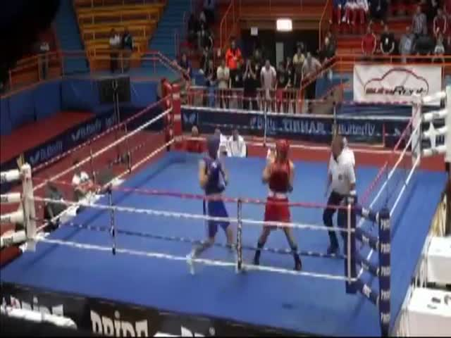 Croatian Boxer Viciously Attacks Referee After Losing Fight That the Referee Ended  (VIDEO)