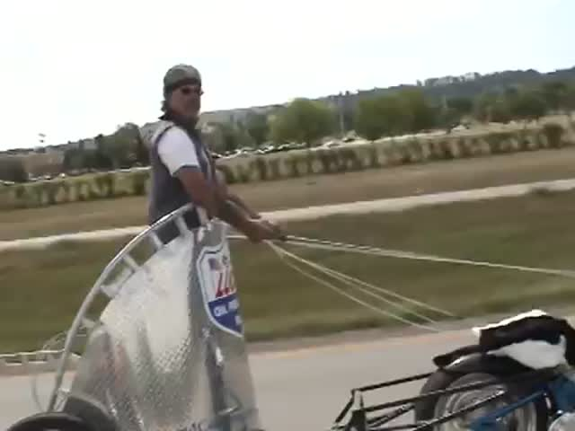The Motorcycle Chariot, Gladiators Style!  (VIDEO)