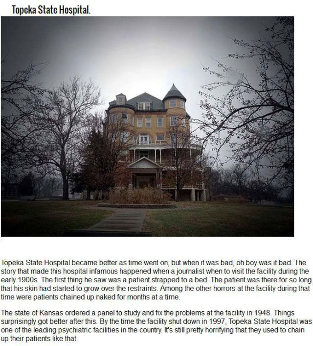 Neglected Asylums That Have a Disturbing History
