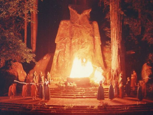 Real-life Photos from a Secret Bohemian Grove Meetings