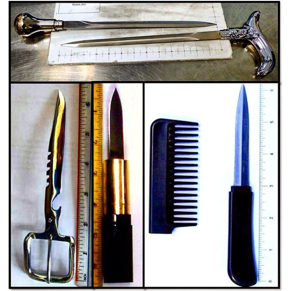 Bizarre Items That the TSA Has Ever Confiscated