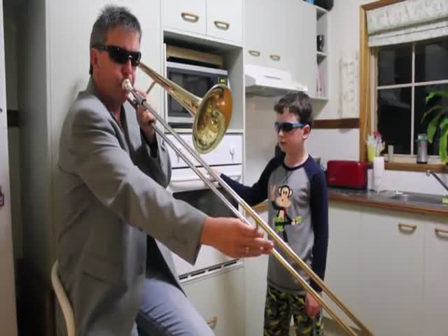 When the Father Plays the Trombone, the Son Plays the Oven  (VIDEO)