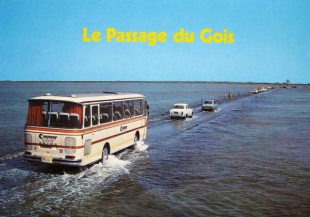 Crossing the Passage du Gua Is Pretty Hard