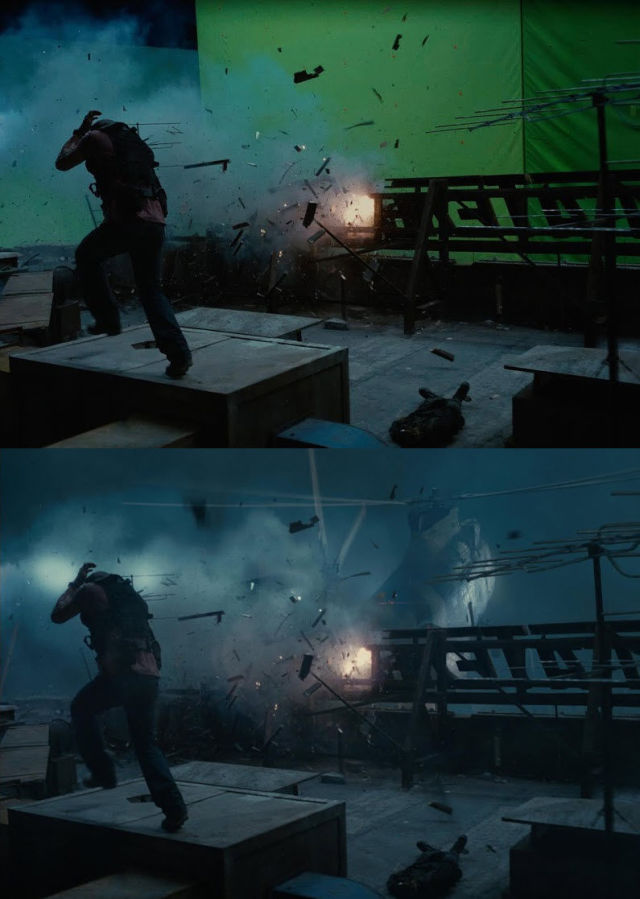 The Amazing Difference Pre and Post Using Visual Effects for Films