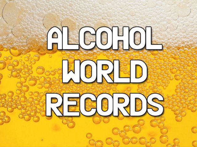 The Alcohol World Records Is a Real Thing