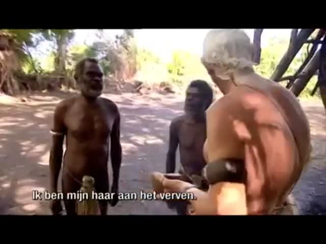 The Reaction of Aboriginals Getting Their Hair Dyed  (VIDEO)