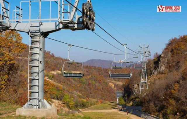 North Korea's New Luxury Ski Resort