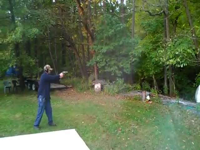 Man Shoots Tree, Tree Wants Revenge  (VIDEO)