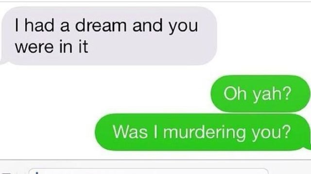 Clever and Witty Retorts to Text Messages from Exes